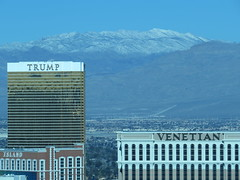 Trump, Venetian & Snowy Mountain (theswagdotnet) Tags: trumphotel lasvegas nevada venetian snowy mountaintop the strip
