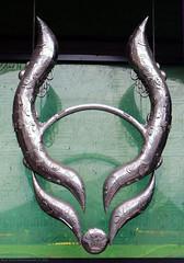 Horns (Rick & Bart) Tags: art london uk city urban camdentown rickvink rickbart canon eos70d horny horns cybderdog store sign metal camdenmarket