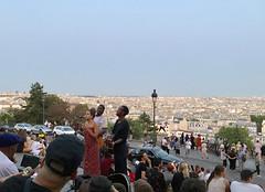 Live music on the steps of Sacré Coeur (monique.m.kreutzer) Tags: