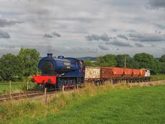 Wimblebury, Foxfield Railway 24-07-19 (Robin Patrick's Trains) Tags: foxfield colliery wimblebury hunslet engine company