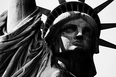 Miss Liberty (Selvaggia Chechi) Tags: libertyisland city urban hdr history art portrait statue liberty statueofliberty nyc usa newyork