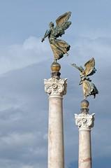 Statues of Altare della Patria, Piazza Venezia, Rome, ITALY (brun@x - Africa Wildlife) Tags: 2019 brunoportier italy italia italie bruno portier roma rome