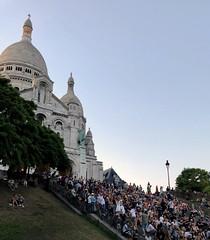 Friday night on the steps of Sacré Coeur (monique.m.kreutzer) Tags: