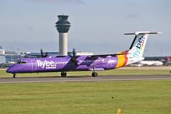 G-PRPF DHC-8Q 402 flyBe MAN 23-07-19 (PlanecrazyUK) Tags: egcc manchester ringway manchesterairport gprpf dhc8q402 flybe man 230719