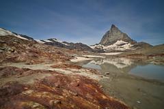 Matterhorn east side (ivoräber) Tags: matterhorn zermatt trockener steg glacier trail hirli laowa 15mm swiss switzerland