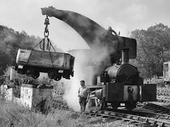 Crane Tank Foxfield Colliery 24-07-19 (Robin Patrick's Trains) Tags: crane tank foxfield railway dubs colliery