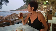 A b o u t ... me (Ladyhelen_) Tags: sea holidays ocean relax relaxingwoman helen beer view woman fashionlover sealover beerlover tavern words poetry poem verses quotes femme landscape countryside shade hedonist birra bere bevuto drink fashion coast