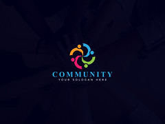 Community/unit logo design (Mohammod Matubber) Tags: brand branding business charity colorful communication community connect connecting connection group human internet logo network people social socialmedia socialnetwork unite united unity