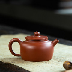 """Yixing """"Ping Gai Lian Zi"""" Teapot Capacity around 100CC Made from """"zhu Ni"""" (John@Kingtea) Tags: yixing pinggailianzi teapot capacity around 100cc made from zhuni"""