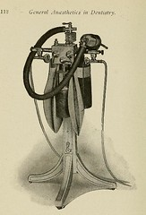This image is taken from Page 112 of Lectures on general anaesthetics in dentistry : advocating painless dental operations by the use of nitrous oxid, nitrous oxid and oxygen, chloroform, ether, ethyl chloride and somnoform (Medical Heritage Library, Inc.) Tags: anesthesia general dental nitrous oxide columbialongmhl medicalheritagelibrary columbiauniversitylibraries americana date1912 idlecturesongenera1912defo