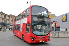WVL486 LJ61 NWV (ANDY'S UK TRANSPORT PAGE) Tags: buses london goaheadlondon bluetriangle romford