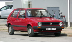 June 1991 VW Golf OK33175 still in excellent condition on the roads of Denmark (sms88aec) Tags: 1991 vw golf ok33175 still excellent condition roads denmark