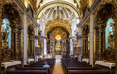 _DSC7017 - Praying in the Church of Carmelites (AlexDROP) Tags: 2019 portugal porto europe art travel architecture color wideangle interior church nikond750 tamronaf1735mmf284diosda037 best iconic famous mustsee picturesque postcard geometry