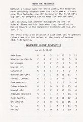Andover vs AFC Totton - 1982 - Page 7 (The Sky Strikers) Tags: andover fc afc totton the southern football and hampshire league walled meadow lion matchday 20p magazine