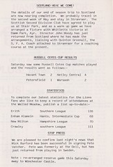 Andover vs AFC Totton - 1982 - Page 9 (The Sky Strikers) Tags: andover fc afc totton the southern football and hampshire league walled meadow lion matchday 20p magazine