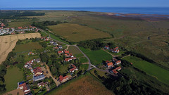 Aerial Views of Thornham (Martin Sutton) Tags: norfolk uk coast coastal harbour aerial drone dji phantom4 marsh saltings
