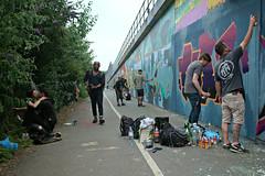 21/19 (Becky Frances) Tags: city candid colourstreetphotography canpubphoto documentary england eastlondon london streetphotography socialdocumentary shoreditch summer graffiti urban uk 2019