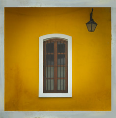 Pondichery, a French window on India (Nithi clicks) Tags: color yellow french window architecture