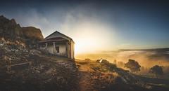 Pico Sacro (Noel Feans) Tags: pico sacro boqueixon galiza galicia sony a7 iii a7iii voigtlander 15 vm neboa fog mist mencer sunrise