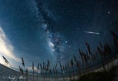 Milky Way over Sanibel (Sunny Moon's Photos) Tags: sanibel island sanibelisland florida meteor milkyway fireball