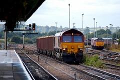 66003 NG0181 Westbury D210bob (D210bob) Tags: 66003 ng0181 westbury d210bob railwayphotographs railwayphotography railwayphotos railwaysnaps nikon nikond100 class66 freighttrain greatwestern ews
