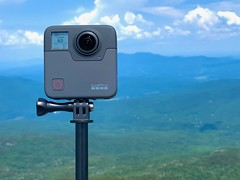 The GoPro Fusion 360 action camera (LEXPIX_) Tags: summer summertime green mountains vt new england gopro fusion 360 action camera 4k 60p hike hiking iphone xs lexpix 52k