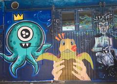 SKUR 14 Street Art for the Tall Ships Races 2019 (Bergen, Norway) (svennevenn) Tags: graffiti gatekunst streetart bergen skur14 barnslig