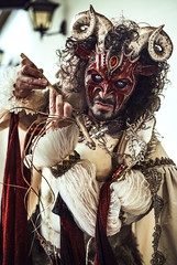 The Power of Eye Contact (pisanim1) Tags: venice venezia carnival masque maschere carnevale eyes italia riratto portait squardo 50mm canon costume mask venedig venecia face strong