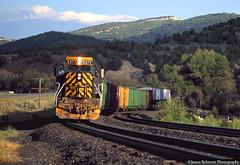 Zig Zag Into the Light (jamesbelmont) Tags: railway railroad train coors beer ups tunnelmotor dvoaf sd40t2 emd narrows spanishforkcanyon millfork riogrande
