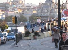 Istanbul, Turkey (east med wanderer) Tags: turkey istanbul bridge traffic fishermen mosques ottoman newmosque eminönü newgalatabridge karaköy beyoğlu fatih
