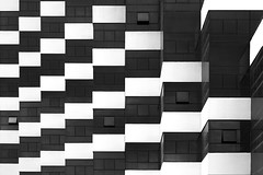 Panorama (HWHawerkamp) Tags: cuba havanna hotel architecture building facade windows graphics abstract travel blackwhite