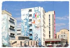 Humanisons la vie ! (école d'infirmières de la Croix-Rouge) (busylvie) Tags: écoledinfirmières croixrouge murspeints portraits médecine lyon france