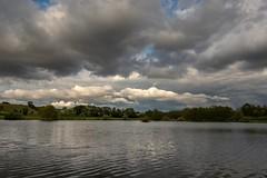 France - Isère - étang du Moulin - Eclose (Jean-Philippe Le Royer) Tags: nuages landscape paysages g1x canon leroyer atmosphere lightroom lac étang canong1x ciel isere cielorageux canong1xiii pland'eau