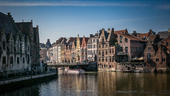 Ghent 2019 (EBoss Fotografie) Tags: ghent gent belgie belgium europe water boat building sky house architecture tourism travel city street bridge soe twop supershot canon