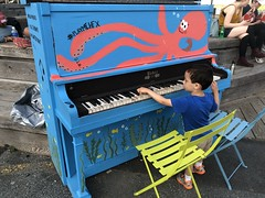 Halifax Waterfront (brownpau) Tags: iphonex canada novascotia halifax halifaxharbour waterfront saltyard ezra ezraordo piano playmehfx music