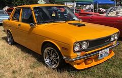 1972 Datsun 510 (Hugo-90) Tags: 1972 nissan datsun 510 bluebird 1600 car auto show ferndale washington