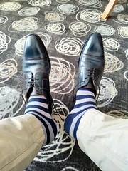 Hotel shoe play 12 (Adam11051983) Tags: blue captoes dress feet foot footwear formal lace leather men mens shoe shoes sock socks sole