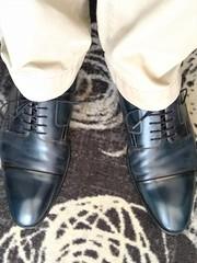 Hotel shoe play 5 (Adam11051983) Tags: blue captoes dress feet foot footwear formal lace leather men mens shoe shoes