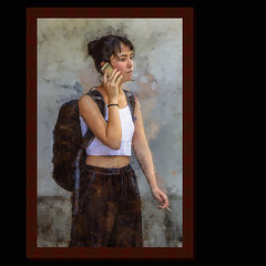 La belle inconnue (Xtian du Gard) Tags: xtiandugard portrait nîmes gard femme woman tourdefrance