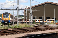 IMG_9104 (RyanPhotos99) Tags: bombardier class 710 345 serco 08 08596 121 113 london overground tfl rail elizabeth line cross old dalby test track ashfordby