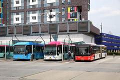 Alle hens aan dek (Maurits van den Toorn) Tags: autobus stadsbus bus breng connexxion arriva nijmegen stationsplein vierdaagse