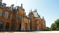 Manor House 7884 (Thorbard) Tags: waddesdonmanor nationaltrust buckinghamshire aylesbury canonefs1585mmf3556isusm summer summer2019 sky bluesky architecture building stately statelyhome chateau manor manorhouse rothschild