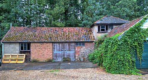 UK, Suffolk, Felsham, Farm Buildings