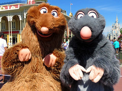 Emile and Remy (meeko_) Tags: emile remy rat ratatouille pixar characters disneycharacters pixarcharacters mainstreetusa magic kingdom magickingdom themepark mickey minnies surprise celebration mickeyandminniessurprisecelebration walt disney world waltdisneyworld florida