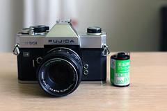 New toy (Ernst-Jan de Vries) Tags: fujicast801 gearporn fujifilm analog 135 m42 analoog film