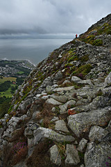 Penmaenmawr - to the West (PentlandPirate of the North) Tags: penmaenmawr granite quarry northwales llanfairfechan mountain path grey