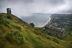 Penmaenmawr - to the east (PentlandPirate of the North) Tags: penmaenmawr granite quarry northwales ruins derelict greatorme