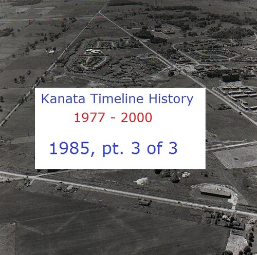 Kanata Timeline History 1985 (part 3 of 3)