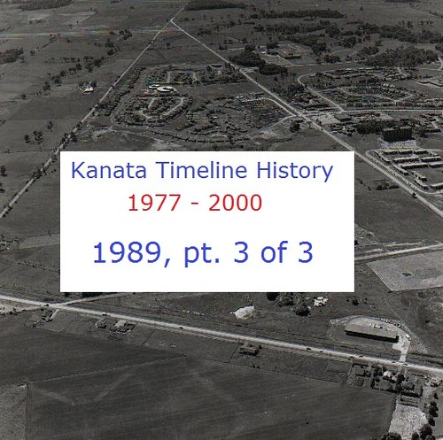 Kanata Timeline History 1989 (part 3 of 3)