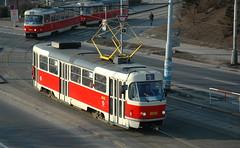2006-01-27 Praha Tramway Nr.8018 (beranekp) Tags: czech praha prague prag tramvaj tramway tram tranvia šalina strassenbahn elektrika električka t3 8018